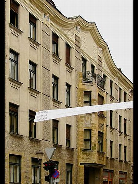 Maks Fabiani: Bambergova hiša (1907)