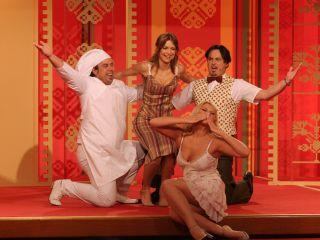 Natalija Verboten so se pridružili Magdalena Kropiunig, Jernej Kuntner in Danijel Malalan. Foto: RTV SLO