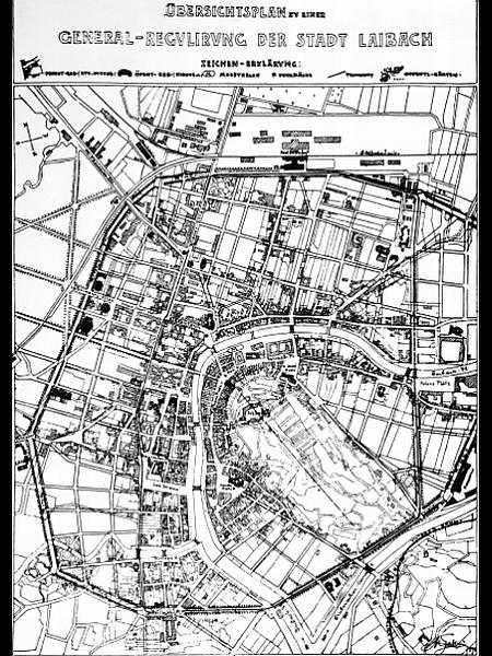 Za Fabianija so dejali, da je bil človek svetovljanske razgledanosti, širokega znanja in naprednih idej, ki so ga vodile do konca secesije in na začetek racionalizma v arhitekturi, iz urbanizma pa v regionalno prostorsko načrtovanje in še dlje. Vse to se je izrazilo tudi v njegovem urbanističnem načrtu za popotresno Ljubljano. Foto: MOL - Oddelek za urejanje prostora