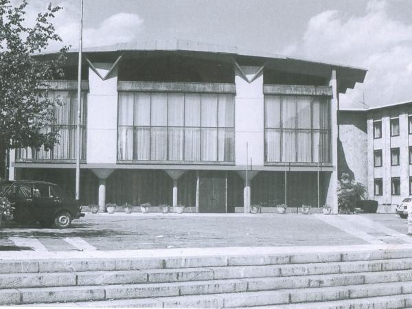 Edvard Ravnikar: Zgradba okrajnega ljudskega odbora (1955-1960)