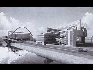 Le Corbusier: načrt za palačo svojetov v Moskvi