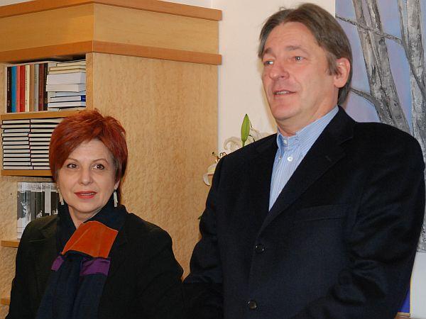 Majda Širca Ravnikar, Vasko Simonit