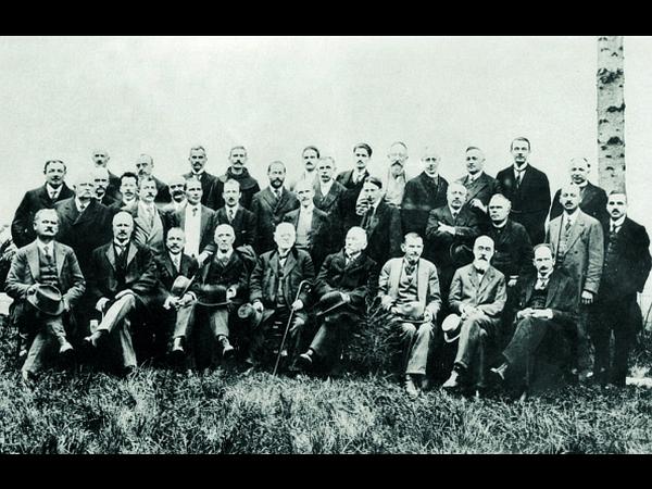 Slovensko ozemlje v času Države SHS je upravljala Narodna vlada za Slovenijo, ki jo je vodil Josip vitez Pogačnik. Foto: Muzej novejše zgodovine Slovenije