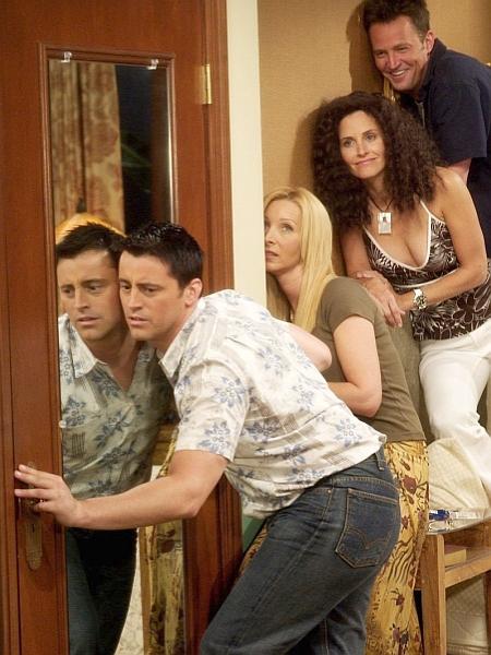 Najbolj razburljivo spolno življenje je imel lik Matta LeBlanca, šarmer Joey Tribbiani. Foto: NBC