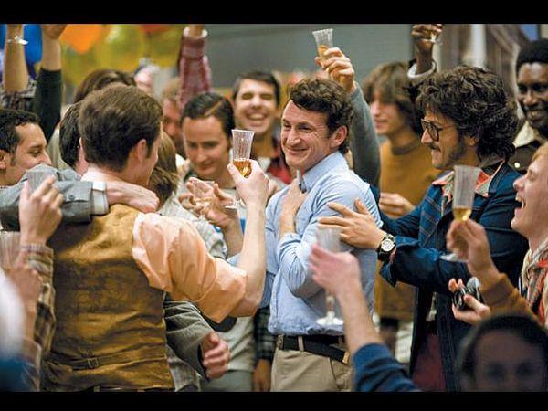 Sean Penn v filmu Milk