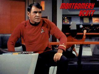 James Doohan bo v vesolje izstreljen 6. decembra. Foto: