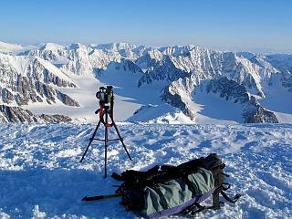 Razgled na led in gore razkriva posebne čare severnih točk sveta. Foto: RTV SLO/Gregor Kresal