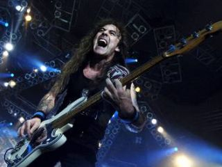 Iron Maiden so konec maja koncertirali tudi v Pragi. Foto: epa