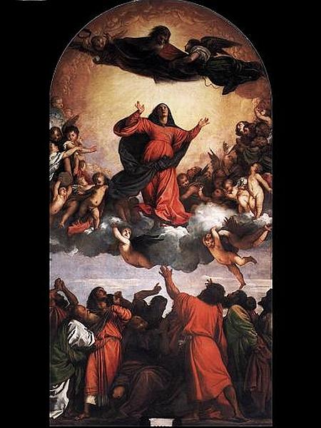 Tizian: Assunta (1516-1518)