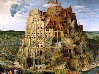 Pieter Brueghel starejši: Babilonski stolp. Foto: