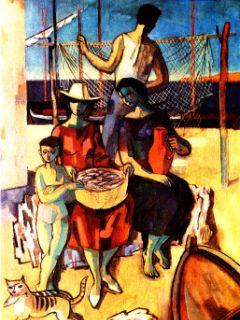 Dela Maksima Sedeja so pogosto potovala tudi na razstave v tujih deželah.