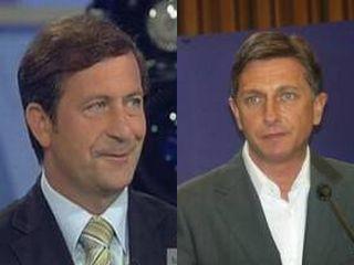 Karl Erjavec in Borut Pahor