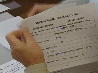 Glasovnica v tujino