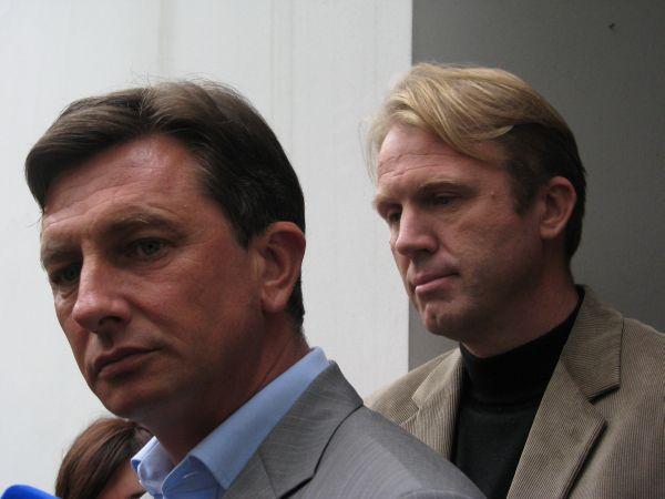 Borut Pahor, Gregor Golobič