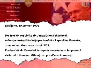 Izstopna izjava predsednika iz stranke, v kateri je deloval več kot desetletje. Foto: RTV SLO