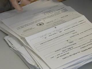 Dokončne izide za tujino naj bi Državna volilna komisija ugotovila 27. novembra, medtem ko bodo dokončni izidi za Slovenijo znani danes. Foto: RTV SLO