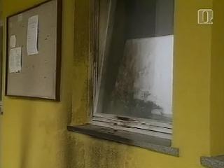 Klokočovnikovi privrženci zanikajo odgovornost za napad na stavbo v kateri so prostori večih strank, tudi SD-ja in SDS-a, Foto: RTV SLO