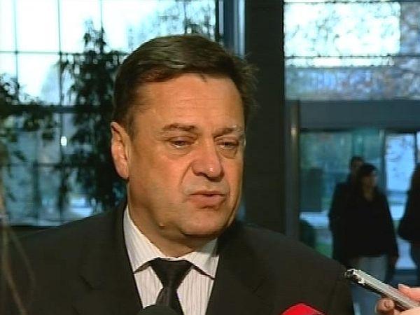 Janković je Simonitijevo razglasitev Plečnikovih tržnic označil za zlobno nagajanje, ki je preprečilo gradnjo. Janković je še napovedal iskanje zasebnega partnerja za ta projekt. Foto: MMC RTV SLO