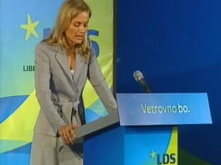 Katarina Kresal je svojo poklicno pot začela kot pravnica. Foto: MMC RTV SLO