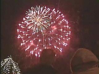 V novo leto smo vstopili v noči s petka na soboto. V letu 2011 nas čaka osem dela prostih dni med tednom. Foto: RTV SLO