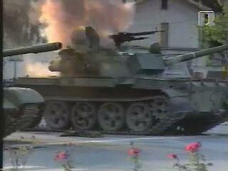 Leta 1991 se je odvijala desetdnevna slovenska osamosvojitvena vojna. Foto: RTV SLO