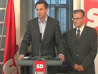 Poleg predsednika stranke Boruta Pahorja je med najbolj predstavljenimi člani tudi vodja poslanske skupine Miran Potrč, ki končuje že svoj peti mandat v državnem zboru. Foto: MMC RTV SLO
