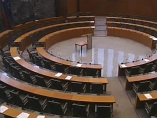 Kdo bo sedel v novem sklicu državnega zbora, bo dokončno znano čez dober teden. Foto: RTV SLO