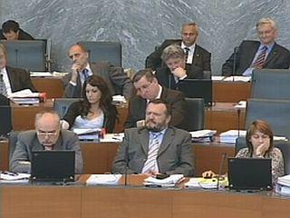 Eva Irgl bo po neuradnih volilnih izidih skupaj z Alenko Jeraj v državnem zboru zastopala SDS. Foto: MMC RTV SLO