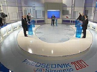 Soočenj kandidatov je konec, zato pa so o izidih volitev spregovorili predstavniki parlamentarnih strank. Foto: RTV SLO