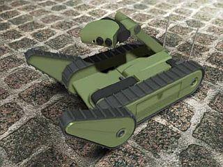 Ameriško podjetje iRobot razvija majhen, kompakten model po imenu SUGV, ki bo izvajal tudi nekatere lažje vojaške naloge. Foto: