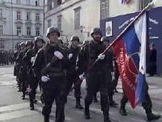 Teritorialno obrambo so ustanovili leta 1968 kot odgovor na agresijo Varšavskega pakta na Češkoslovaško republiko. Predstavljala je del oboroženih sil nekdanje skupne države. Foto: MMC RTV SLO