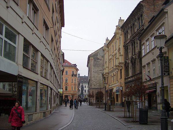 Wolfova ulica v Ljubljani
