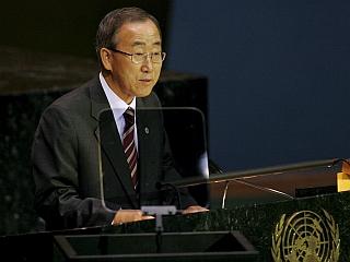 Ban Ki Mun je vesel, da bo lahko sodeloval s človekom, ki ima dolgoletne izkušnje z delom v ZN-u. Foto: EPA