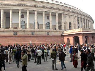 Parlament v New Delhiju