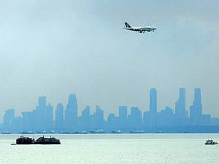 Panoramski pogled na Singapur