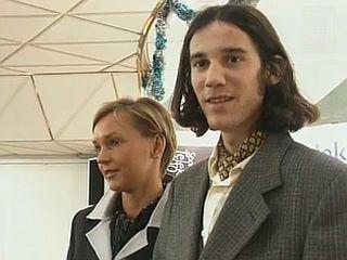 Brigita Bukove in Primož Peterka