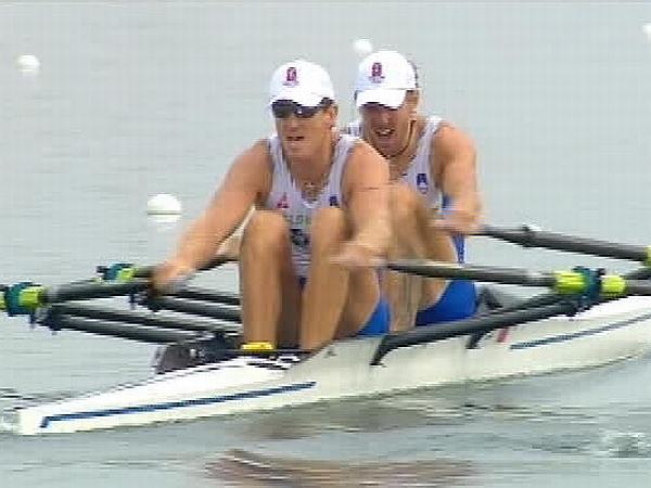 Iztok Čop in Luka Špik sta v Sydneyju osvojila zlato, v Atenah srebro, tokrat pa nista prišla na stopničke. Foto: MMC RTV SLO