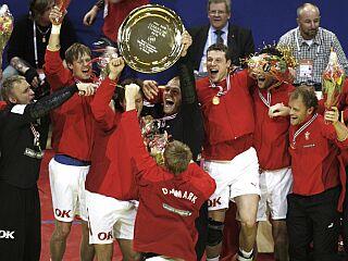Danci so prvič osvojili evropski naslov. Foto: Reuters