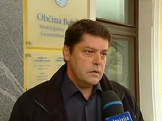 Za predsednika društva s sedežem v Ljubljani so zbrani izvolili bohinjskega župana Franca Kramarja, za podpredsednika pa Vladimirja Prebiliča. Foto: MMC RTV SLO
