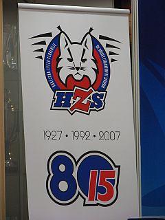 Slovenski hokej slavi pomembni obletnici. Foto: RTV SLO