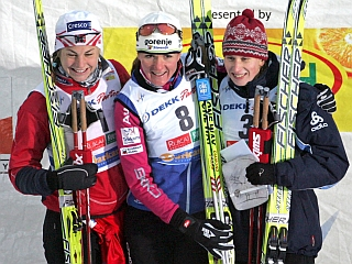 Petra Majdič je pred nadaljevanjem sezone nagnala strah v kosti vsem konkurentkam. Foto: EPA