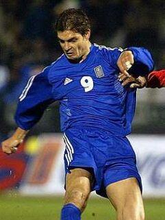 Angelos Charisteas je eden največjih upov grškega nogometa.
