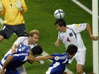 Dellas je v 105. minuti poskrbel za veselje vse Grčije.