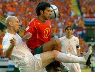 Naslov evropskega prvaka z reprezentanco bi bila pika na i bogate kariere Luisa Figa (na sliki desno).