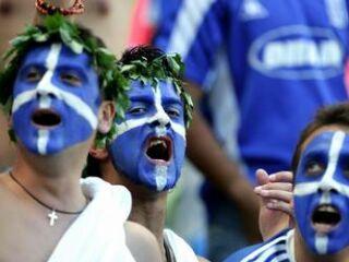 Fanatični grški navijači se bodo še dolgo veselili.
