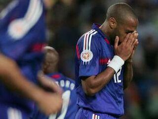 Thierry Henry ni imel svojega dne.