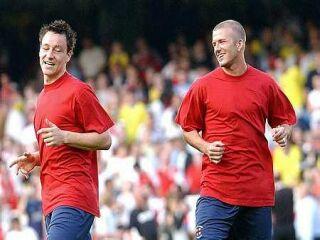 John Terry in David Beckham.