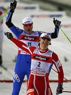 Petra Majdič in Astrid Jacobsen