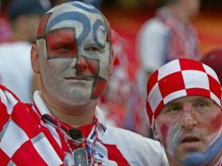 Hrvaški navijači po koncu niso skrivali razočaranja.