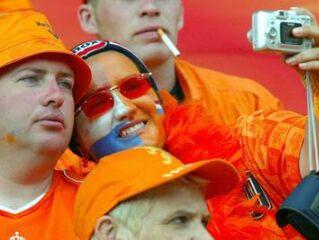 Nizozemski navijači so imeli tokrat razlog za veselje.